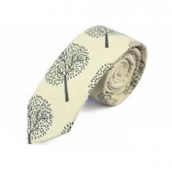 Cravate Jaune avec Motif
