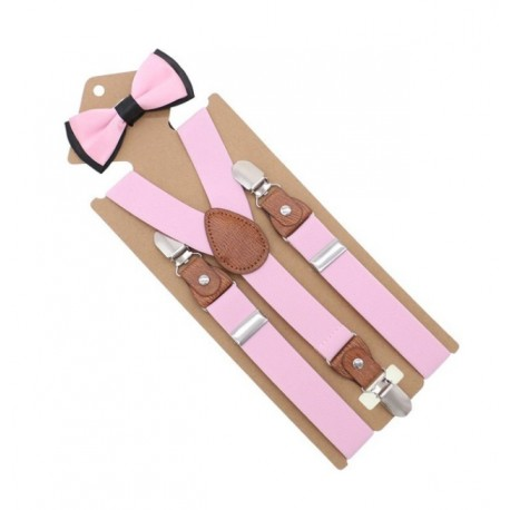 Bretelles rose pour fille
