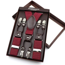 Bretelles 6 pinces à clips
